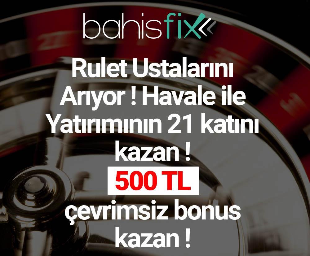 BahisFix'de Casino ve Canli Casino