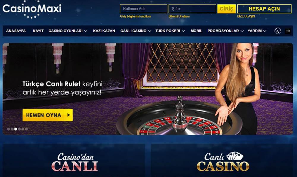 Casinomaxi Bahis Sitesi