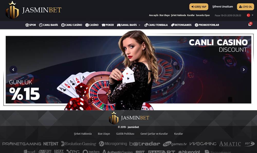 Jasminbet Bahis Sitesi