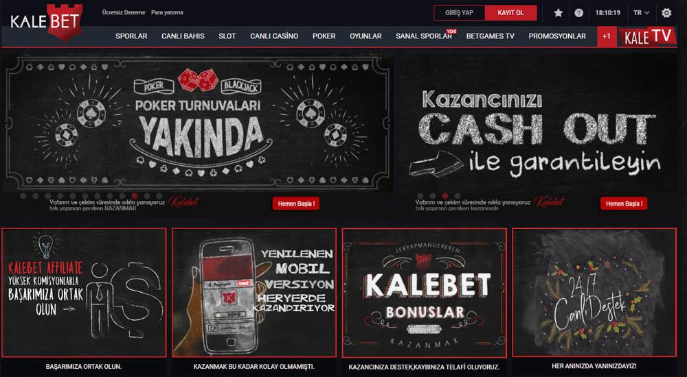 Kalebet Bahis Sitesi Casino Oyunlari