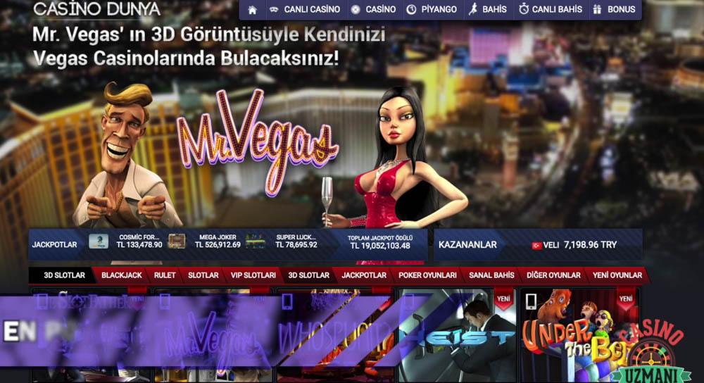 Casino Dunya Canli Casino