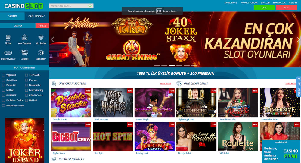 Casino Slot Bahis Sitesi