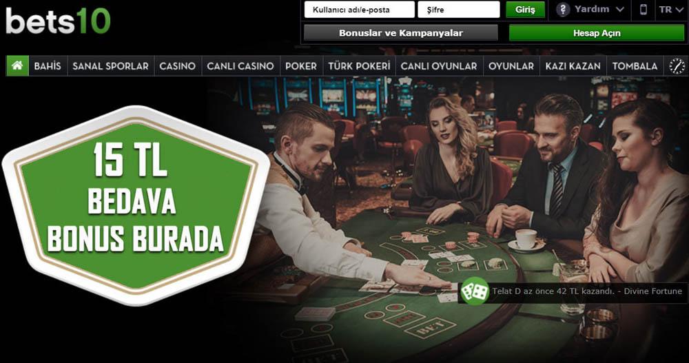 Bets10 Canli Casino Oyunlari